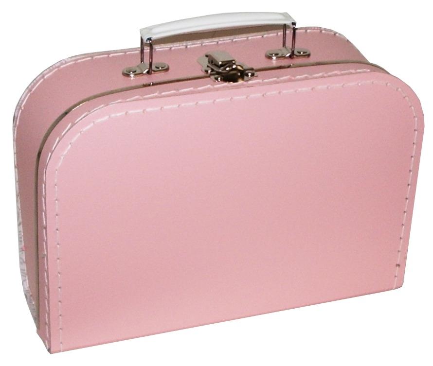 Babyroze koffertje met naam