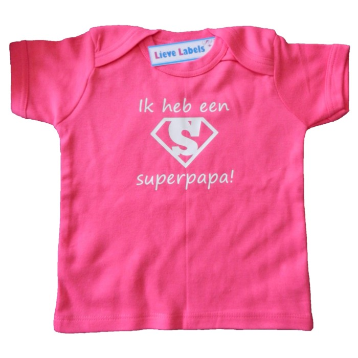 Kinder Shirt Superpapa
