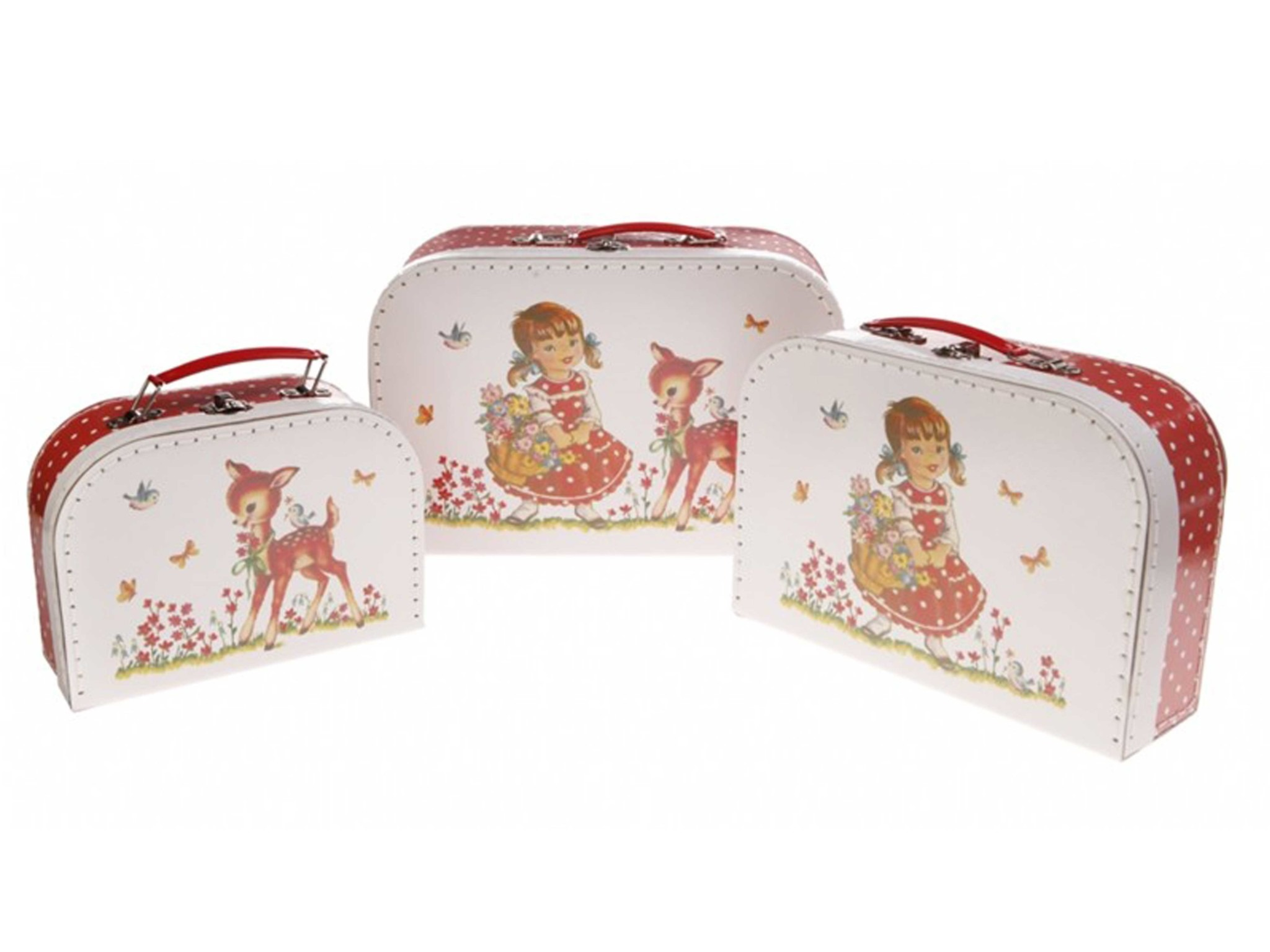 3-delige kofferset - Heidi