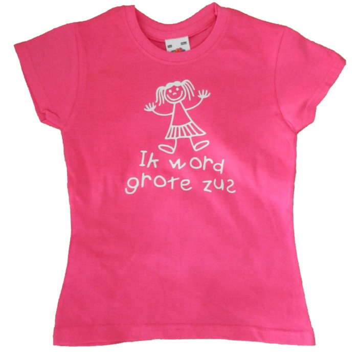Shirt Ik word grote zus