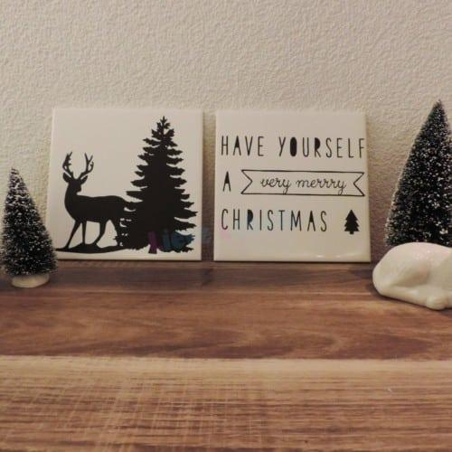 Kersttegels
