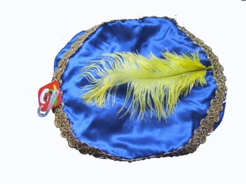 Pietenmuts blauw met geel