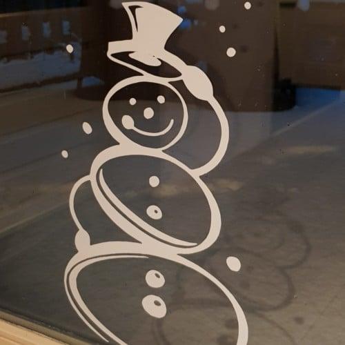 sticker sneeuwpop