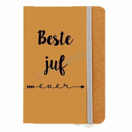 notitieboekje voor juf of meester