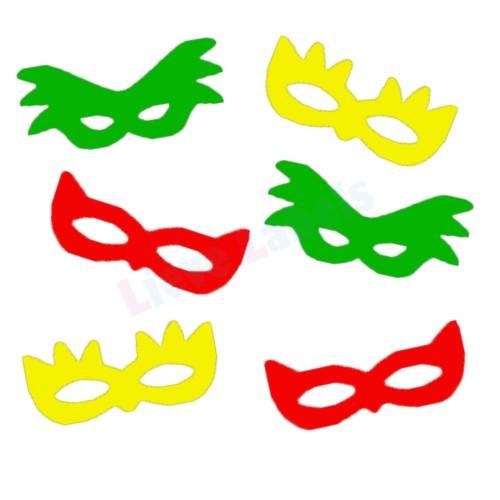 Herbruikbare statische raamsticker - Maskers