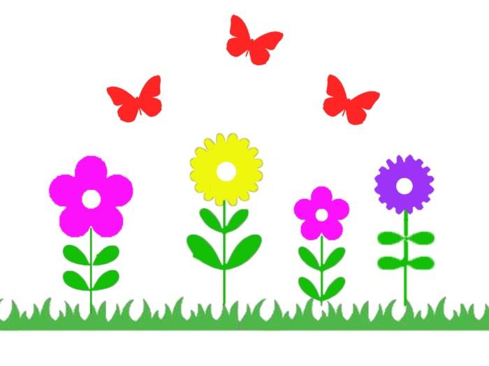 Herbruikbare statische raamstickers - Lente/Pasen