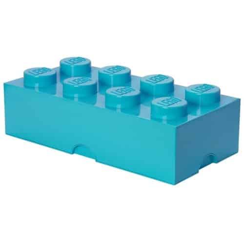 LEGO Opbergbox Brick 8 - Azuur