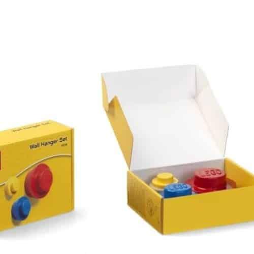 Lego Muurhanger Set Rood