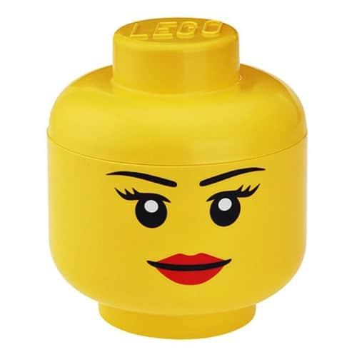 Lego OpbergHoofd - Girl