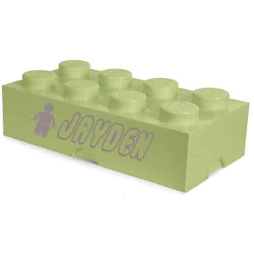 LEGO Opbergbox Brick 8 - Lentegroen