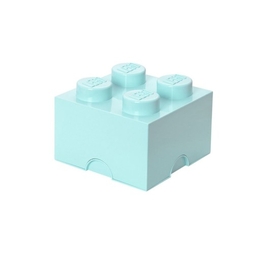 LEGO Opbergbox Brick 4 - Mintgroen