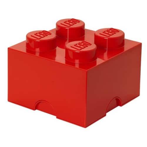 LEGO Opbergbox klein - rood