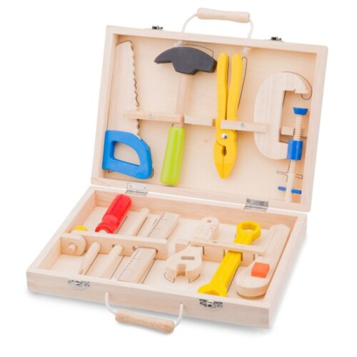 Gereedschapskist New Classic Toys 10-delig