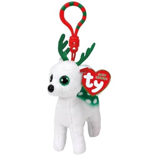 TY Boo's Clip Kerst Knuffel Peppermint