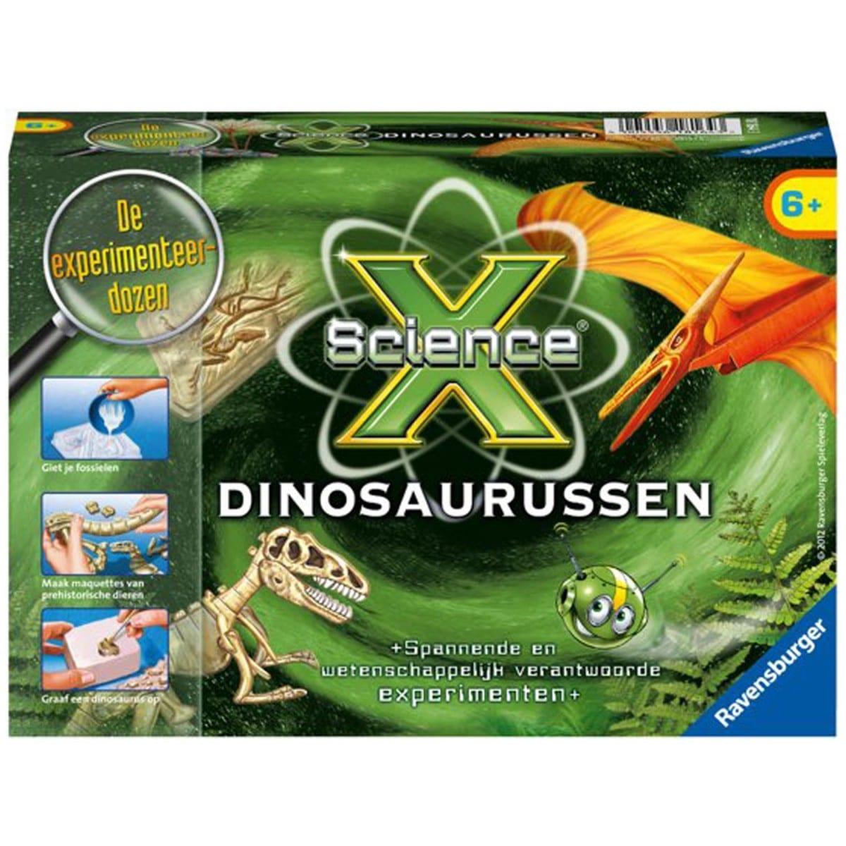 Ravensburger ScienceX® Dinosaurussen