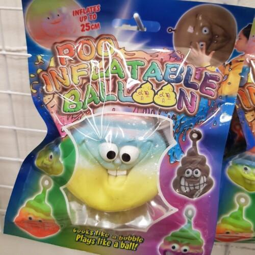 Opblaasbare Drol ballon