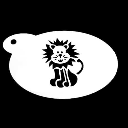 Schmink sjabloon - Leeuw
