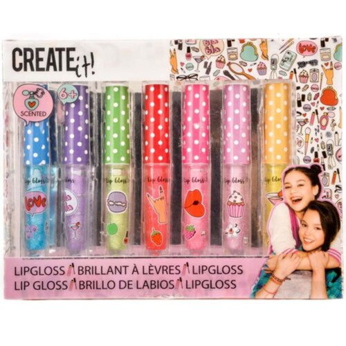 Create It! Scented Lipgloss - 7 stuks