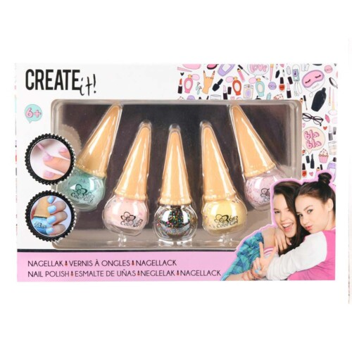 Create It! 5 nagellak ijsjes