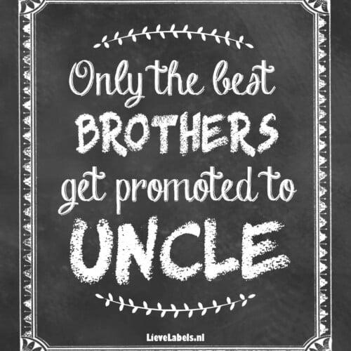 Wijn etiket - Uncle